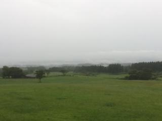 雨も落ちつきました